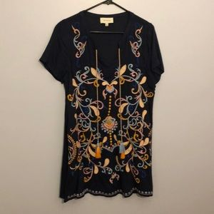 Theresa Embroidered Dress